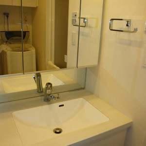オープンレジデンス中野道玄町(1階,5580万円)の化粧室・脱衣所・洗面室
