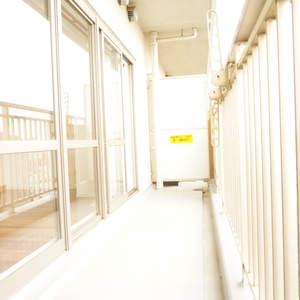 スカイシティ南砂(8階,)のバルコニー