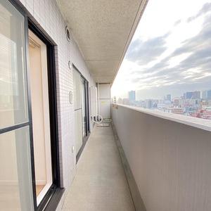ライオンズシティ両国(12階,)のバルコニー