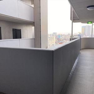 ライオンズシティ両国(12階,)のフロア廊下(エレベーター降りてからお部屋まで)