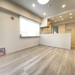 ヴェルデ森下(4階,)の居間(リビング・ダイニング・キッチン)