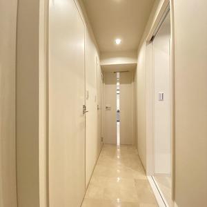 両国スカイハイツ(2階,4280万円)のお部屋の廊下