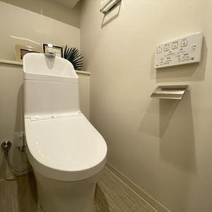 両国スカイハイツ(2階,4280万円)のトイレ