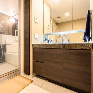 シティハウス二子玉川(1階,1億480万円)の化粧室・脱衣所・洗面室