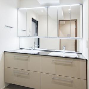ロムルスコート幡ヶ谷(3階,9980万円)の化粧室・脱衣所・洗面室
