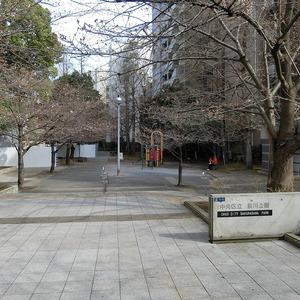 ライオンズマンション新富町第2の近くの公園・緑地