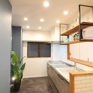 ライオンズマンション新富町第2(5階,5780万円)のキッチン