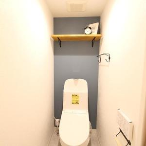 ライオンズマンション新富町第2(5階,5780万円)のトイレ