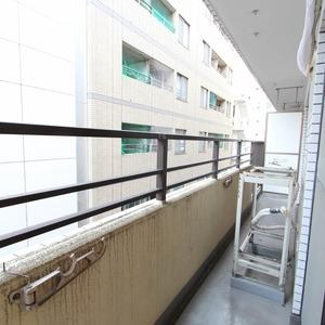 ライオンズマンション新富町第2(5階,5780万円)のバルコニー