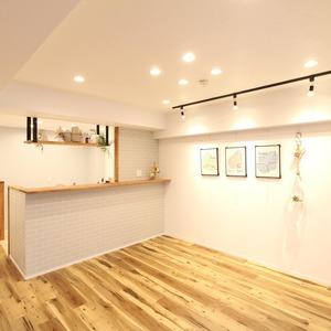 ライオンズマンション新富町第2(5階,5280万円)の居間(リビング・ダイニング・キッチン)