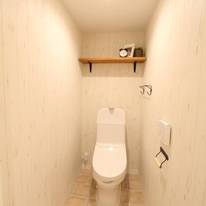 ライオンズマンション新富町第2(5階,5280万円)のトイレ