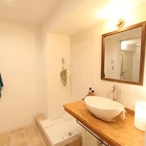 ライオンズマンション新富町第2(5階,5280万円)の化粧室・脱衣所・洗面室