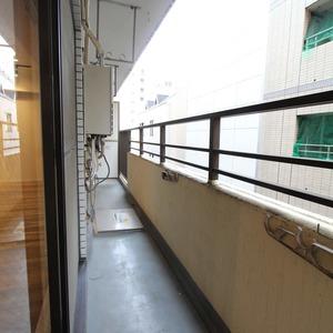 ライオンズマンション新富町第2(5階,5280万円)のバルコニー