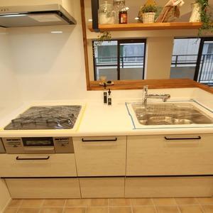 ライオンズマンション新富町第2(5階,5280万円)のキッチン