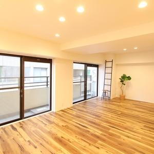 ライオンズマンション新富町第2(5階,5280万円)のリビング・ダイニング