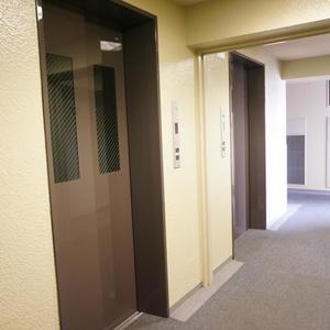 スカイシティ南砂のエレベーターホール、エレベーター内