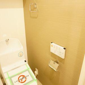 日商岩井日本橋浜町マンション(5階,)のトイレ