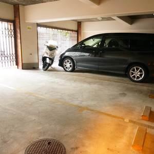 藤和高輪台コープの駐車場