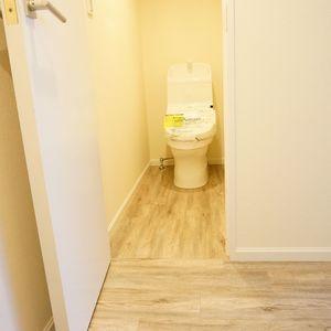 ジェイパーク目黒東山(1階,)のトイレ