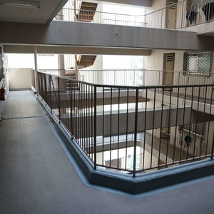 VIP日本橋浜町(8階,)のフロア廊下(エレベーター降りてからお部屋まで)