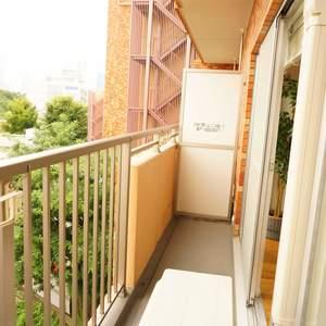 信濃町ハイム(4階,)のバルコニー