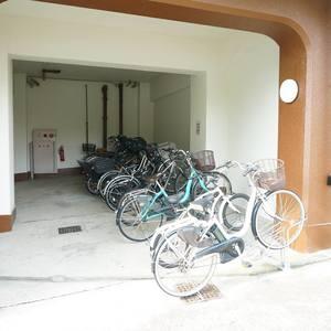 中落合東豊エステートの駐輪場