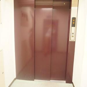 ルモン広尾(8階,)のフロア廊下(エレベーター降りてからお部屋まで)