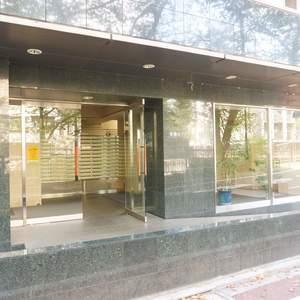 青葉台フラワーマンションの入口・エントランス