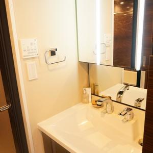青葉台フラワーマンション(12階,5080万円)の化粧室・脱衣所・洗面室