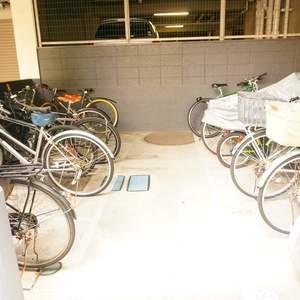 パシフィック白金台の駐輪場