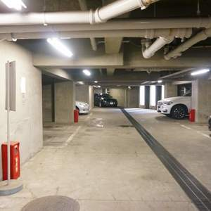 パシフィック白金台の駐車場