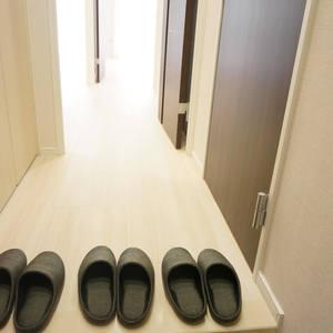 パシフィック白金台(5階,)のお部屋の廊下