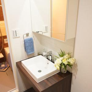 パシフィック白金台(5階,)の化粧室・脱衣所・洗面室