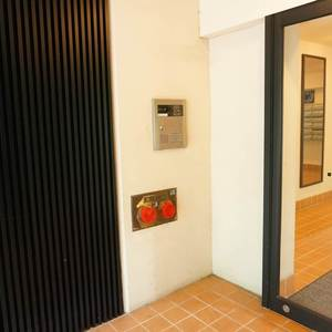 パシフィック白金台のマンションの入口・エントランス