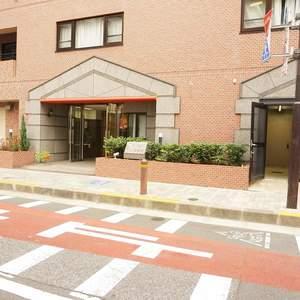 デリード日本橋箱崎のマンションの入口・エントランス
