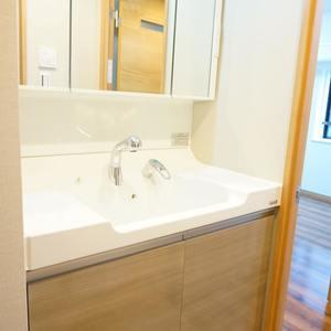 エクラン大森北(2階,4290万円)の化粧室・脱衣所・洗面室