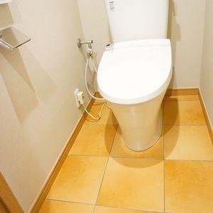 エクラン大森北(2階,4290万円)のトイレ