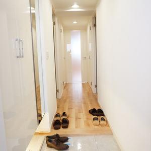 ディオレ西新宿(12階,6980万円)のお部屋の廊下