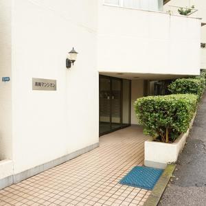 中銀高輪マンシオンのマンションの入口・エントランス