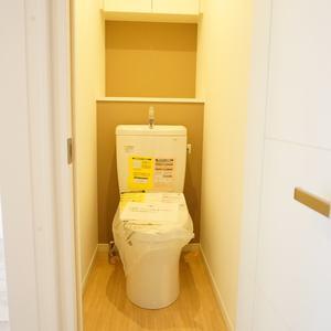 中銀高輪マンシオン(13階,2880万円)のトイレ