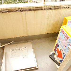 中銀高輪マンシオン(13階,2880万円)のバルコニー
