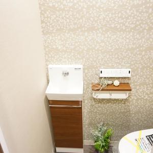 マンション広尾台のトイレ