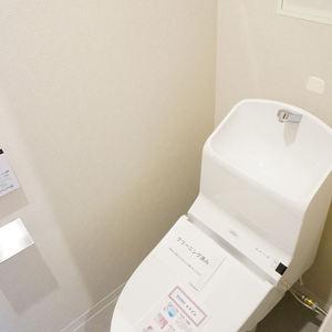 ファミネス小石川(4階,)のトイレ