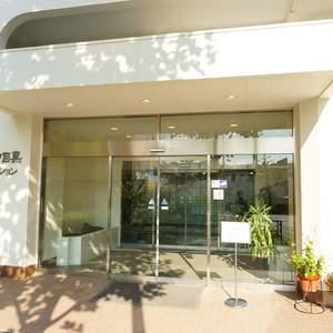 朝日中目黒マンションのマンションの入口・エントランス