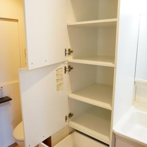 朝日中目黒マンション(12階,4490万円)の化粧室・脱衣所・洗面室