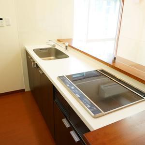 朝日中目黒マンション(12階,)のキッチン