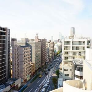 朝日中目黒マンション(12階,4490万円)のお部屋からの眺望
