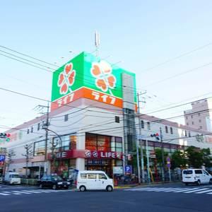 エステート猿江3号棟の周辺の食品スーパー、コンビニなどのお買い物