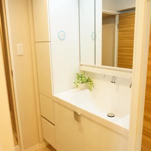 エステート猿江3号棟(4階,)の化粧室・脱衣所・洗面室