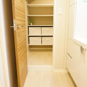 エステート猿江3号棟(4階,3499万円)の化粧室・脱衣所・洗面室